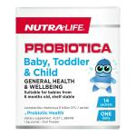 Nutra-Life Probiotica Baby, Toddler & Child 14 sachets
