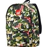 ab New Zealand Kids Canvas Backpack (US Camo) - AB-KBP-UC