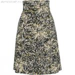 Shop For Womens Royal Robbins Essential Floret Skirt - Jet Black | Royal Robbins Skirts
