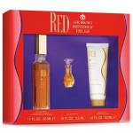 Giorgio Beverly Hills Red EDT 50ml Womens 3pcs