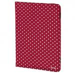 Hama Polka Dot Portfolio, red 00135535