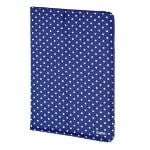 Hama &quote;Polka Dot&quote; 10.1Inch Tablet Portfolio (Blue) 00135537