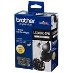 Brother Ink Cartridge LC38BK2PK