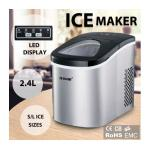 Maxkon 2.4L Portable Ice Maker with LED Control Panel