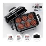Maxkon Mini BBQ Grill with Folding Legs