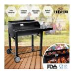 Maxkon BBQ Charcoal Grill Foldable Side Shelf