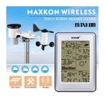 Maxkon Wireless Solar-Powered Touch Screen