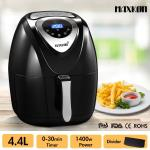 Maxkon New 4.4L Digital Turbo Air Fryer Deep Healthy Oil Free Cooker Oven