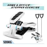 Genki Mini Stepper Home Gym Exercise Workout Machine Fitness Equipment w/ Resistance Bands
