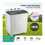 Maxkon 5KG Twin Spin Washing Machine Portable