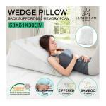 Luxdream Memory Foam and Gel Wedge Pillow
