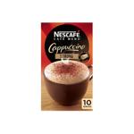 Nescafe Cafe Menu Coffee Cappuccino Strong 10pk