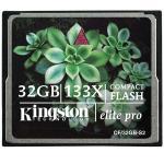 Kingston Elite Pro Compact Flash 133x 32GB