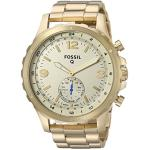 Fossil Hybrid Smartwatch - Q Nate Gold-Tone Stainless Steel
