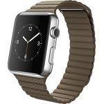 Apple Smart Watch 42mm Stainless Steel Case Classic Buckle