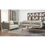 Phoenix Fabric 5 Seater Lounge Suite - Taupe