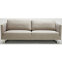 Phoenix Fabric 3 Seater Sofa - Taupe
