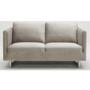 Phoenix Fabric 2 Seater Sofa - Taupe