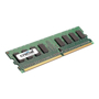 Crucial - DDR2 - 2GB - DIMM 240-pin - unbuffered (p/n: CT25664AA800)