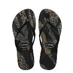 Havaianas KIDS SLIM NATIVE BLK/ROSE GOLD