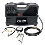 Ozito 1100W Inflate-It Compressor Kit