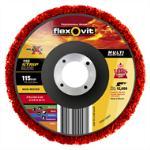 Flexovit 115mm Strip Flexi Maxx Stripping Disc