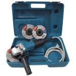 Makita 710W 125mm Corded Angle Grinder with 3 Discs