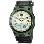 Casio Mens Core Green Nylon Analog Quartz Watch - NZ Watch Store
