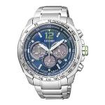 Citizen Mens Eco-Drive Silver Stainless-Steel Eco-Drive Watch