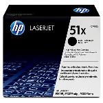 HP Genuine Q7551X (51X) Black [13K Page] Toner Cartridge [Q7551X]