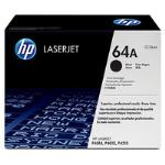 HP Genuine CC364A (64A) Black [10K Page] Toner Cartridge [CC364A]