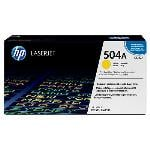 HP Genuine CE252A (504A) Yellow [7K Page] Toner Cartridge [CE252A]