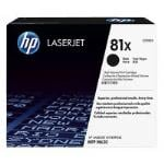 HP Genuine CF281X (81X) Black [25K Page] Toner Cartridge [CF281X]