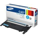 Samsung Genuine CLT-C407S Cyan [1K Page] Toner Cartridge [CLTC407S]