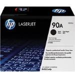 HP Genuine CE390A (90A) Black [10K Page] Toner Cartridge [CE390A]