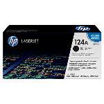 HP Genuine Q6000A (124A) Black [2.5K Page] Toner Cartridge [Q6000A]