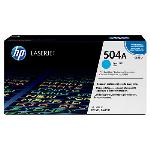 HP Genuine CE251A (504A) Cyan [7K Page] Toner Cartridge [CE251A]