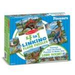 Melissa & Doug 4-in-1 Linking Floor Puzzle Dinosaurs 4x24pc
