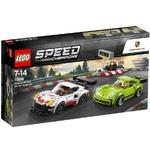 LEGO Speed Champions Porsche 911 RSR and 911 Turbo 3.0 75888