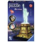 Ravensburger 3D Puzzle Statue of Liberty Night Edition (108pc)