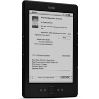 Amazon Kindle E-Ink 6in  WiFi 2GB