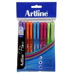 PEN ARTLINE FLOW STICK BRIGHT 1.0MM PK10