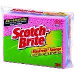 Scotch-brite Standard Sponge Pk3