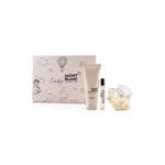 Mont Blanc Lady Emblem Coffret: EDP 75ml + Perfumed Body Lotion 100ml + EDP 7.5ml 3pcs (W)