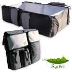 Best 3 in 1 Portable Travel Bed, Nappy Bag & nappy changing station. Portable crib and baby bassinet for travel. infant bed and top quality foldable