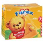 Farex Teething Rusks 12pk