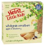 Heinz Little Kids Wholegrain Cereal Bars - Apple & Blueberry
