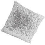 Lalang Stylish Comfy Solid Color Sequins Cushion Cover Throw Pillow Case Cafe Décor
