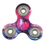 Evermarket New Style Premium Tri-Spinner Fidget Toy with Premium Hybrid Ceramic Bearing, Galaxy