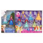 Mattel 8-PC Doll Gift Set: 3.75 Disney Princess